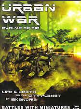 Urban War Edición de la revista 2 25mm skimish sistema de combate Libro
