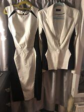 Long Tall Sally Black & White Dress & Jacket Size 10