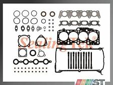 Fit 99-06 Audi VW 1.8T Turbo Cylinder Head Gasket Set Bolts Kit APH AWM engine