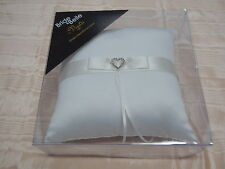 Wedding Ring Pillow Ivory/Bridial White Boxed