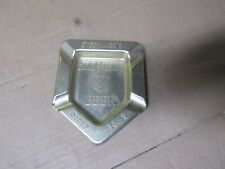 """New listing Stegmaier'S """"Gold Medal Beer"""" Vintage Aluminum Triangle Ashtray"""
