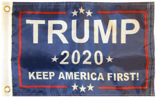 Trump 2020 KAF! Star Blue 150D Woven Poly Nylon 12x18 12