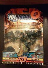 New 2007 DC Universe Catwoman VS. Batman Fighting Figures Mattel