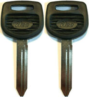 NEW VOLKSWAGEN Uncut Ignition//door Key Blank PAIR V37P Made In USA