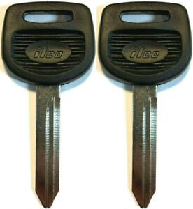 2 Pack - NEW For SELECT FREIGHTLINER TRUCKS KEY BLANKS 1628-P Ilco Made In USA