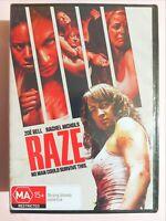 Raze [Region 4 DVD] BRAND NEW & SEALED, Free Next Day Post from NSW