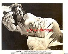Vintage Irene Coleman BUSTY VOLUPTUOUS GORGEOUS GLAMOUR 30s WB Pub Portrait
