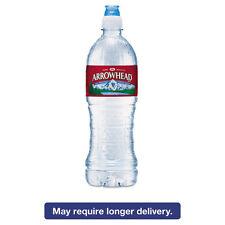 Arrowhead Natural Spring Water 23.6 oz Bottle 24 Bottles/Carton 827165