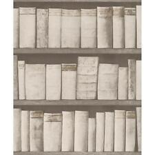 Rasch Carta da parati pattern Libro Scaffale Legno Libreria CASE VINTAGE realistico 930511