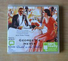 GEORGETTE HEYER / Death in the Stocks / Unabridged Audiobook MP3CD