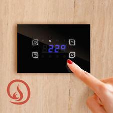 Temperatur-Differenzregler Holzkessel Kaminöfen Touch Screen Glass Heizkreis