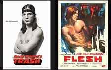 Joe Dallesandro Andy Warhol Film Poster Replicas • Non Fade & Digitally Restored