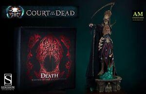 SIDESHOW - Court De Dead - Death Master De Underworld Premium Statue 1:4