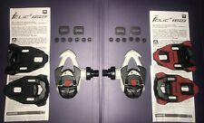 Time I-CLIC Carboflex Racer Pedals 2 Sets Cleats/Hardware Brand New FREE POST