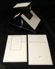 Polaroid SX-70 PolaSkinz Full Grain Nappa Cowhide White Replacement Skin SLR680