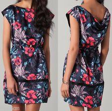 NWT $598 Marc by Marc Jacobs Floral Print Silk Dress Size L