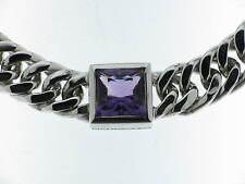 PIANEGONDA collana argento con ametista carrè referenza CA010883 new