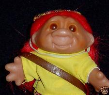 """DAM Troll GOLFER GOLFING PGA Norfin Troll Doll NEW 5"""""""