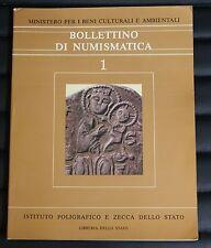 Bollettino di Numismatica n. 1 - Ed. Libreria dello Stato e Zecca dello Stato
