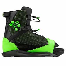 Ronix District Wakeboard Boots New Size Us 10-14.5 Green