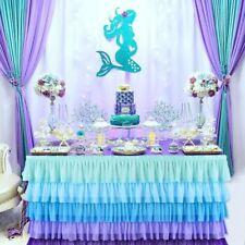 Party Theme Decorations Mermaid Supplies Balloon Birthday Favors Sea DIY Kids