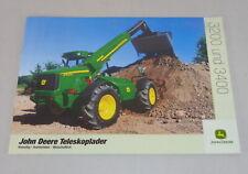 Folleto/Folleto John Deere Cargador Telescópico 3200/3400 De 07/2001