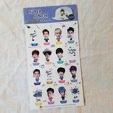Super Junior pop-up Standing Sticker Korea KPOP Star New Gift
