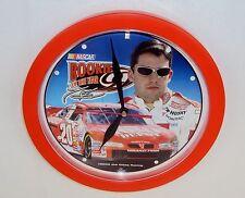 "Tony Stewart Wall Clock ~ Joe Gibbs Racing 2000, NASCAR ""Rookie Of The Year"""