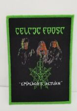 Celtic frost emperors return. WOVEN PATCH