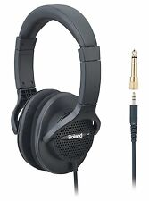 New! Roland RH-A7-BK Monitor Headphones Open-air type Black from Japan!