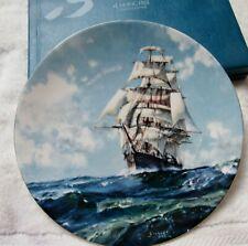 "John Stobart Original Royal Doulton Limited Edition Plate ""Running Free"" See Des"