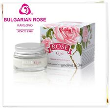 ROSE CREAM Around the Eyes with Q10 , Bulgaria Rose , for Morning and Evening.