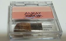 ALMAY Wake up Blush & Highlighter with angled brush # 020 Rose