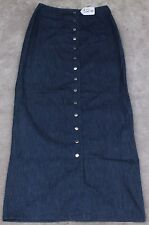J & ANS Women Jean Skirt Size  -  W28 X L41. TAG NO. 372W