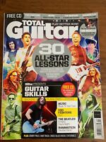 TOTAL GUITAR Magazine 30 All Star LESSONS CD FOO FIGHTERS Beatles AC/DC 2019 Sep