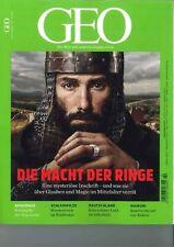GEO Magazin, Heft 02/2020: Die Macht der Ringe  +++wie neu +++