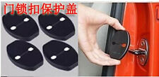 4PCS Door Lock Buckle Decorative Cover for Toyota Prius 2008 - 2014