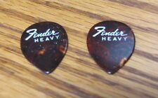 Fender Jazz Guitar Picks 358 1/2 Heavy  New Old Stock