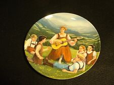 "Edwin M. Knowles Plate ""The Sound of Music"" ""Do-Re-Mi"" MIB"