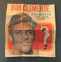 1970 Topps Posters Roberto Clemente Pittsburgh Pirates HOF