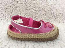NIB STRIDE RITE Crawl Zenny Pink Patent Sandals Shoes PG49794, Size 4M