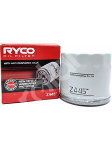 Ryco Oil Filter FOR RENAULT FLUENCE L30_ (Z445)