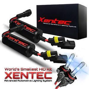 Xentec AC CANBUS HID Kit 880 9005 9006 H1 H4 H7 H10 H11 H13 5202 6K xeno Xenon