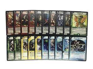 20x Duel Masters Karten DM-02 Evo Crushinators of Doom in Englisch - Played - LP
