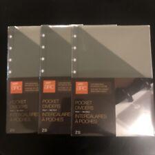 3 Pack Staples Arc Pocket Dividers 2 Pk Each 622 X 862 In