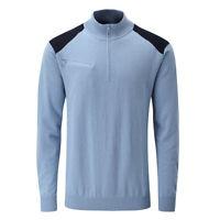 Ping Troy 1/4 Zip Sweater RRP£60 - MEDIUM OR XL - Blue Lagoon