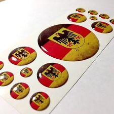 Germany German flag domed emblem decal stickers BMW Mercedes Porsche VW