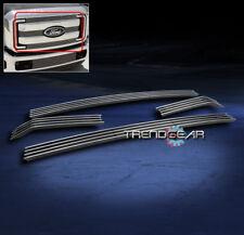 2011-2013 FORD F250 F350 F450 F550 SUPER DUTY TRUCK UPPER BILLET GRILLE 4PCS XLT