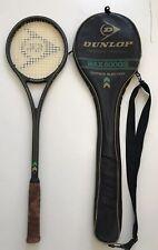 Vintage Retro Dunlop Max 500GS Indoor Squash Racket Made In England 500 GS Case