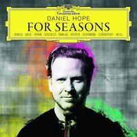 DANIEL HOPE For Seasons CD NEW Vivaldi Bach Frahm Gonzales Rameau Richter Weill